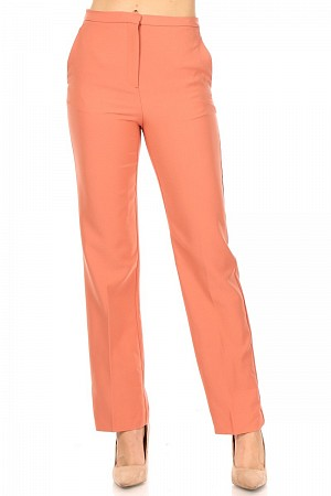 Solid, formal style, long pant ...