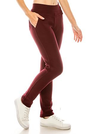 Fur lined scuba pants