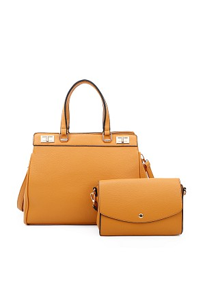 2IN1 STYLISH SATCHEL WITH CROS ...